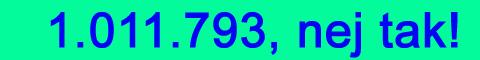 1.011.793, nej tak til statskirken