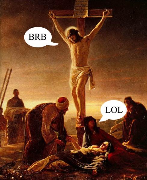 Jesus kristus sagde: Er straks tilbage! og dødede